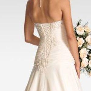 Raylia Designs Dresses - NWT Raylia Designs Wedding Dress Rose Gold